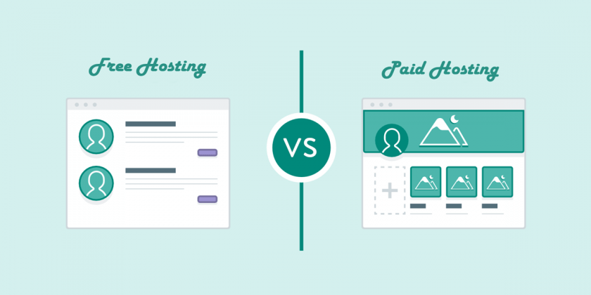 Free Hosting vs Paid Hosting - Which to choose in 2020