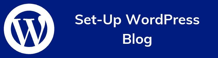 Set Up WordPress Blog